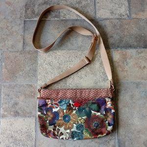 Oilily floral crossbody handbag